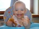 А вы тоже любите пончики как я,девочка Алиночка.
